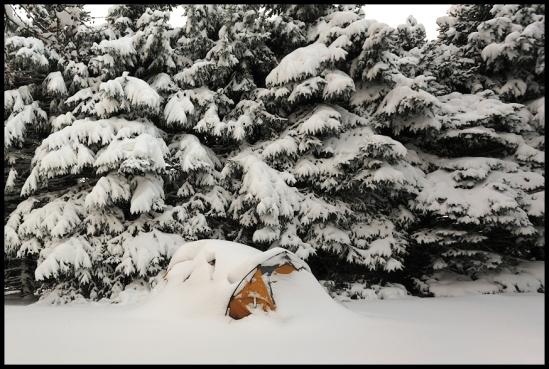 Snow Camping  January 2010