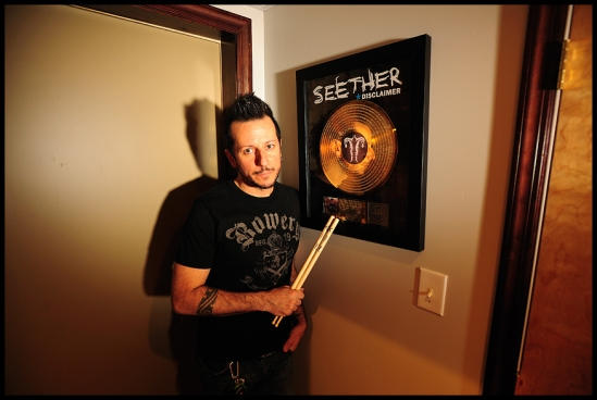 Kevin Soffera: Seether - Disclaimer Gold Album
