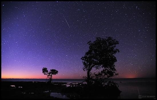 2012 Quadrantid Meteor Shower - Dawn on a Meteor