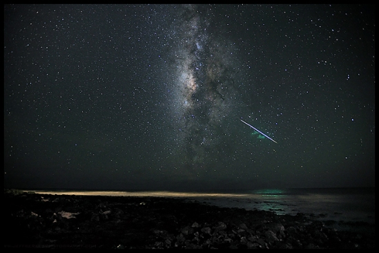 Perseid Fireball over Kauai
