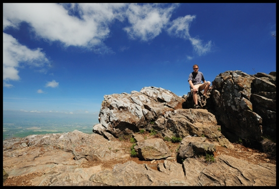 Self Portrait - Hawksbill Mountain